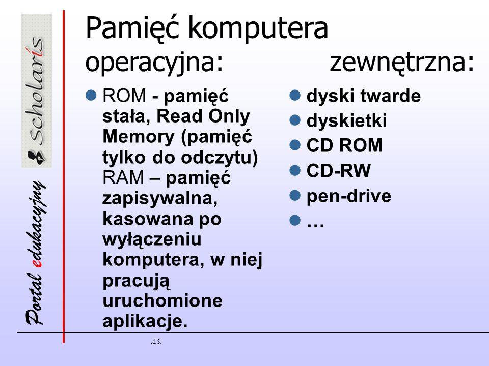 Portal edukacyjny A.Ś.Wirusy komputerowe Jak uchronić się przed wirusami.