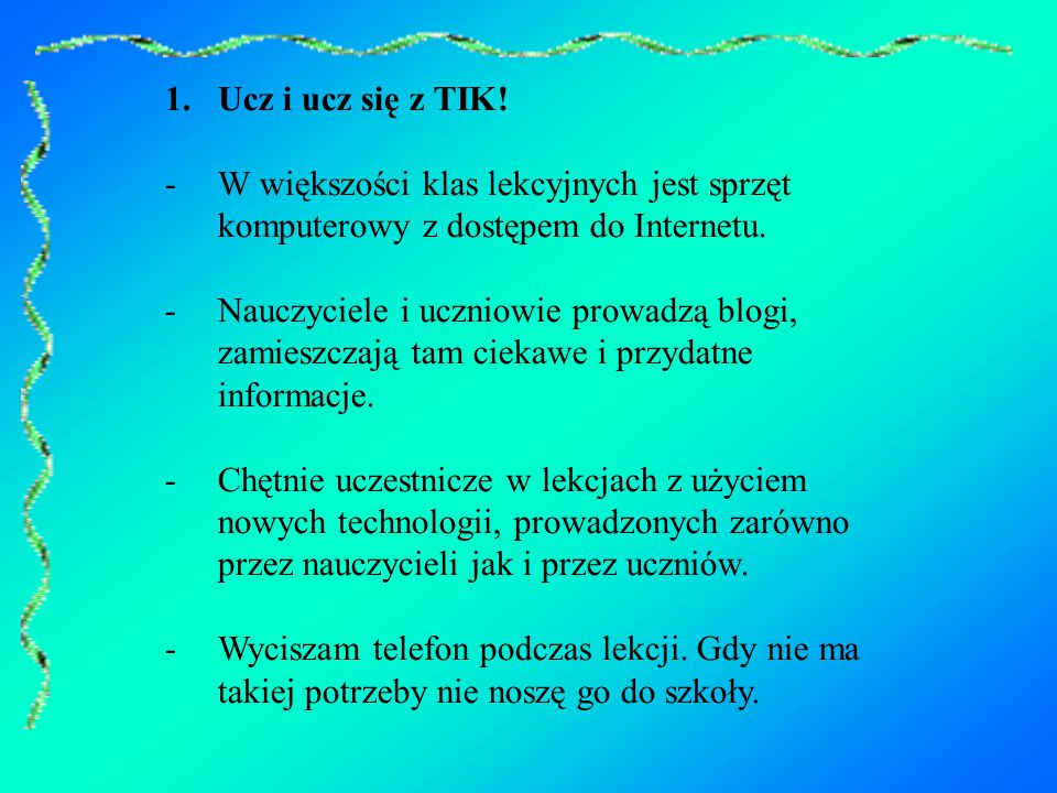 1.Ucz i ucz się z TIK.