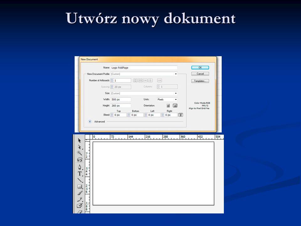Utwórz nowy dokument