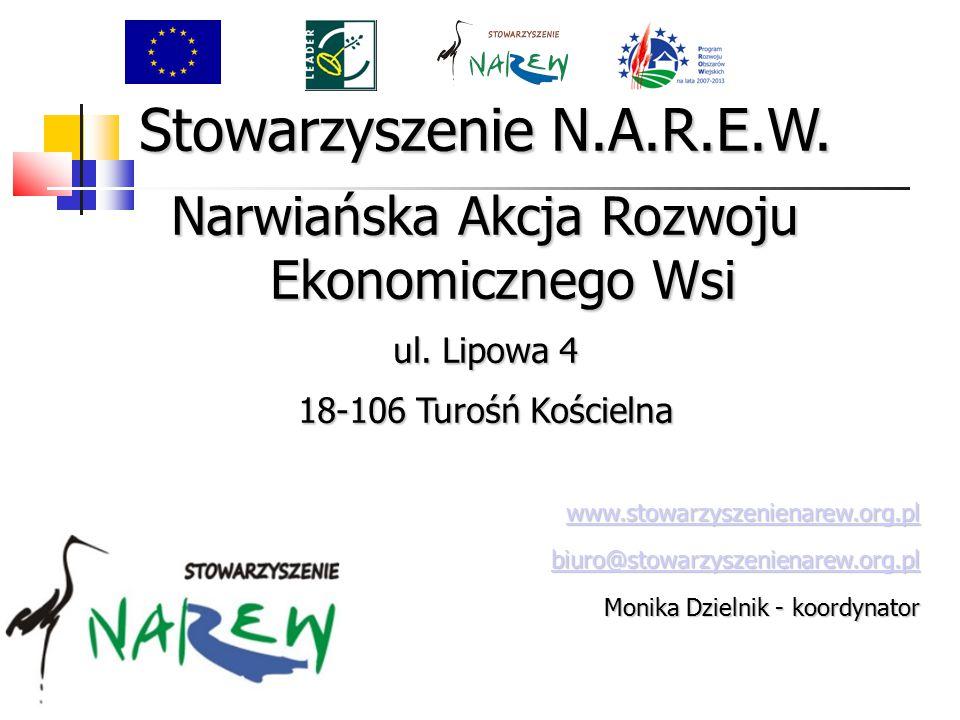 Stowarzyszenie N.A.R.E.W. Narwiańska Akcja Rozwoju Ekonomicznego Wsi ul.