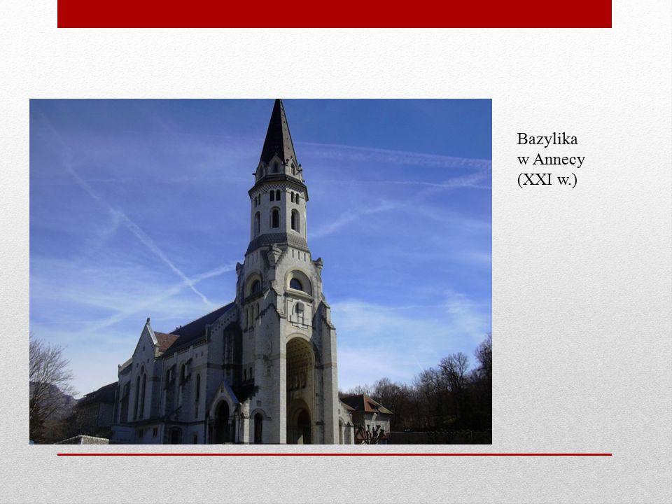 Bazylika w Annecy (XXI w.)