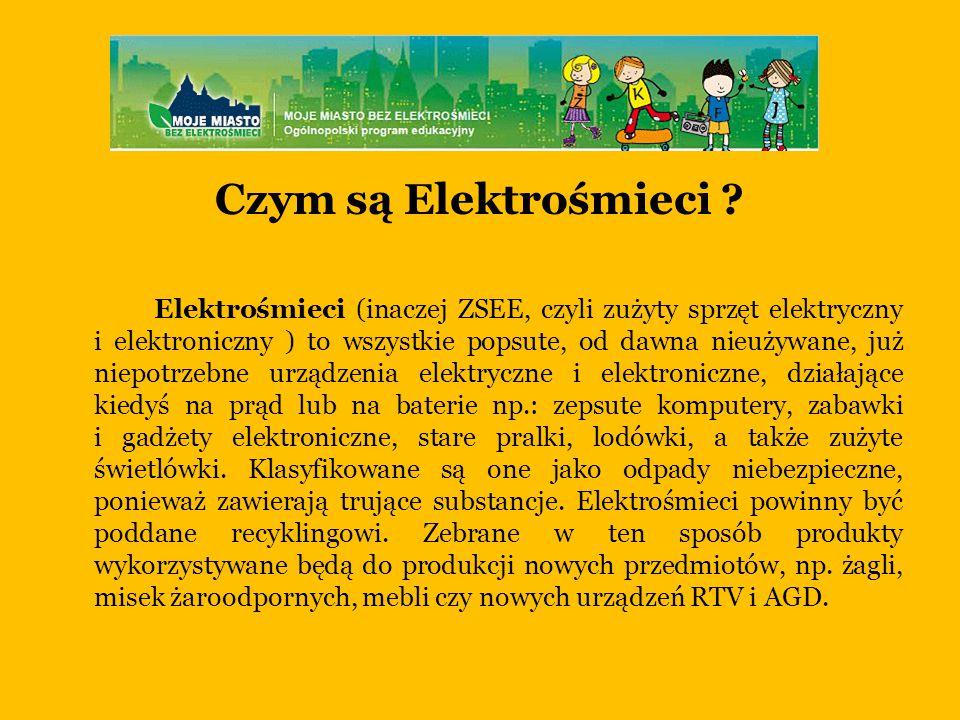 Czym są Elektrośmieci .