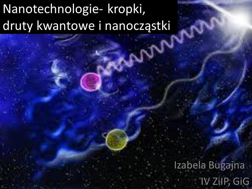 Wstęp Nanotechnologia działa w obszarze cząsteczek mierzonych w skali nanometrycznej a wielkość jednego nanometra odpowiada milionowej części milimetra.