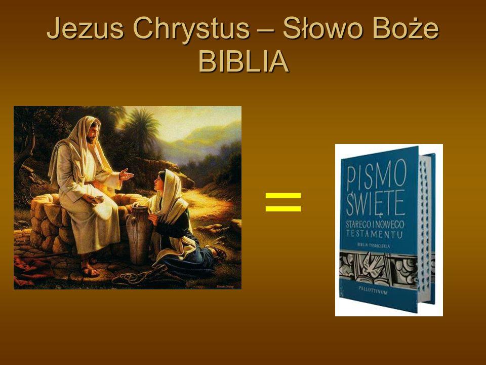 Jezus Chrystus – Słowo Boże BIBLIA =