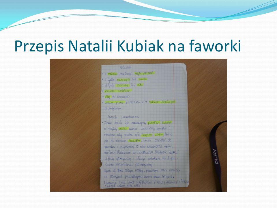 Przepis Natalii Kubiak na faworki