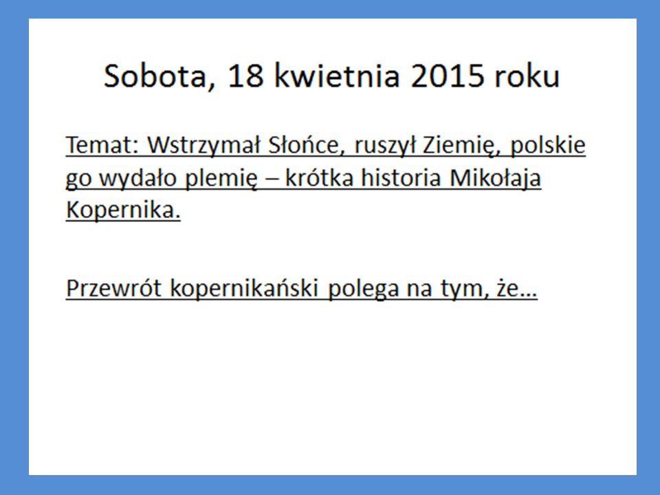 7. Jak miał na imię brat MK: a. Jędrek b. Niczek c. Dominik