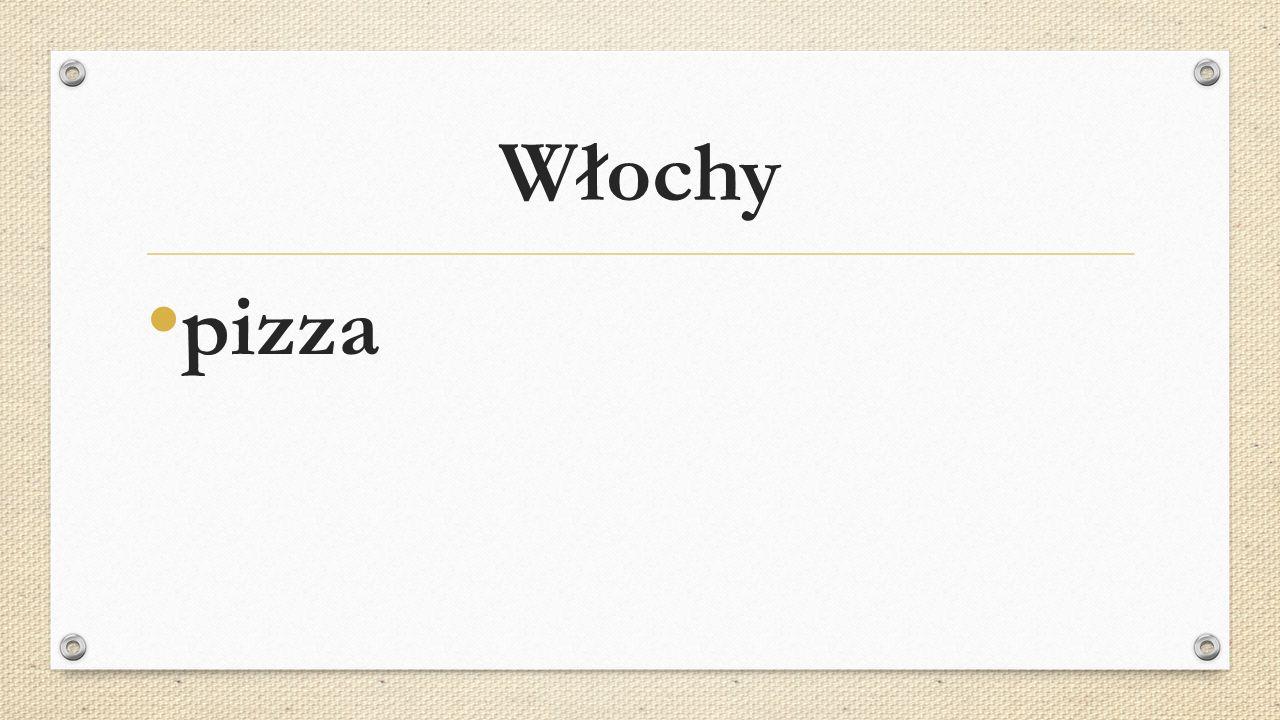 Włochy pizza