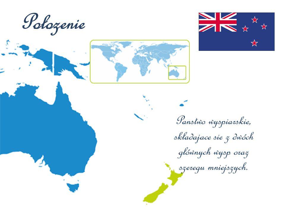 Połozenie Panstwo wyspiarskie, składajace sie z dwóch głównych wysp oraz szeregu mniejszych.
