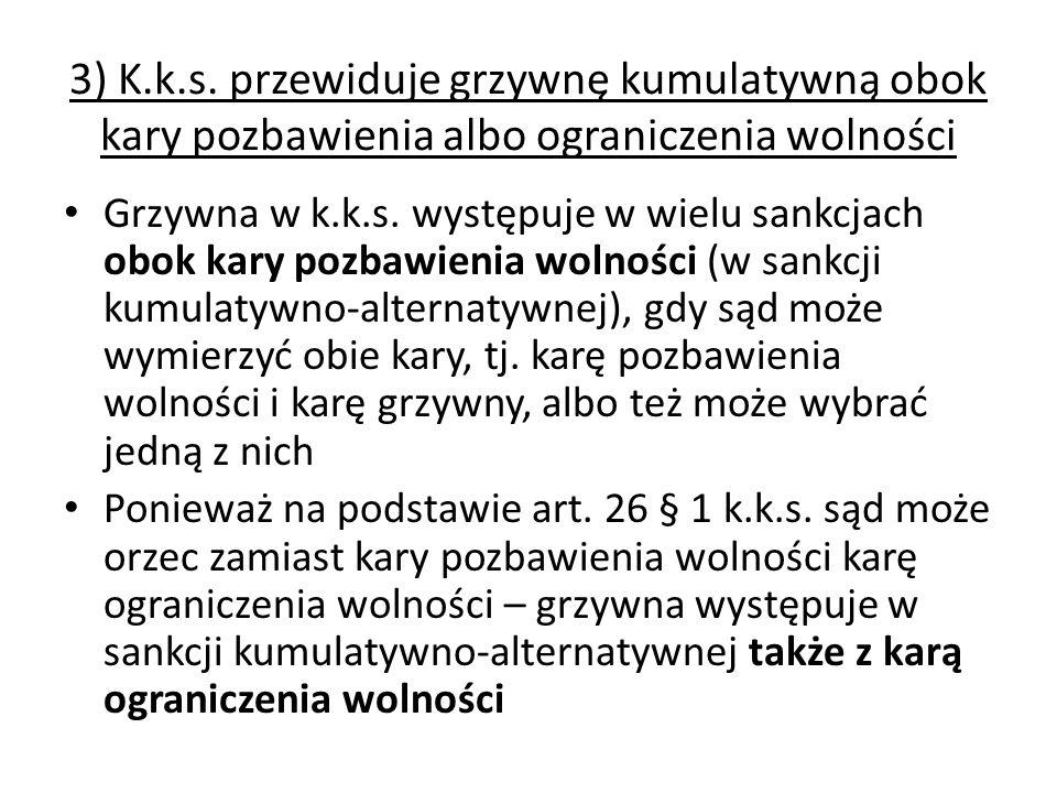 3) K.k.s.
