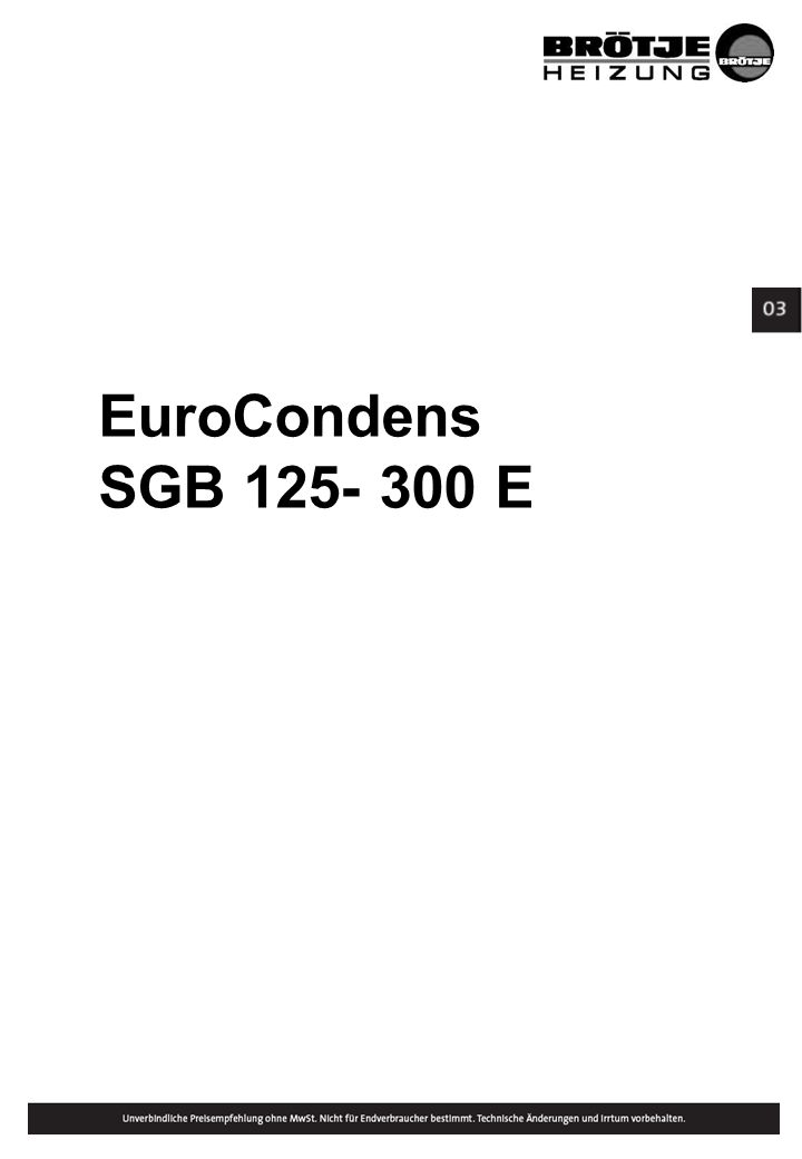 EuroCondens SGB 125- 300 E