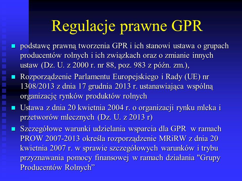 Formy prawne GPR spółka z o.o.– 315; spółka z o.o.