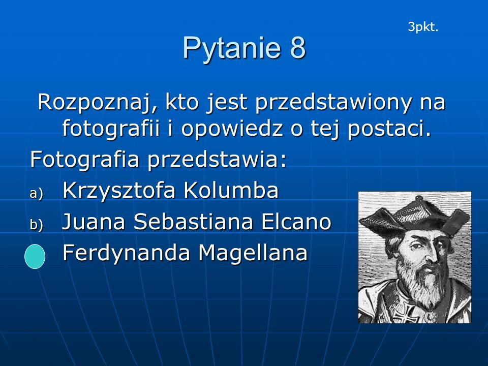 Pytanie 8 Rozpoznaj, kto jest przedstawiony na fotografii i opowiedz o tej postaci. Rozpoznaj, kto jest przedstawiony na fotografii i opowiedz o tej p