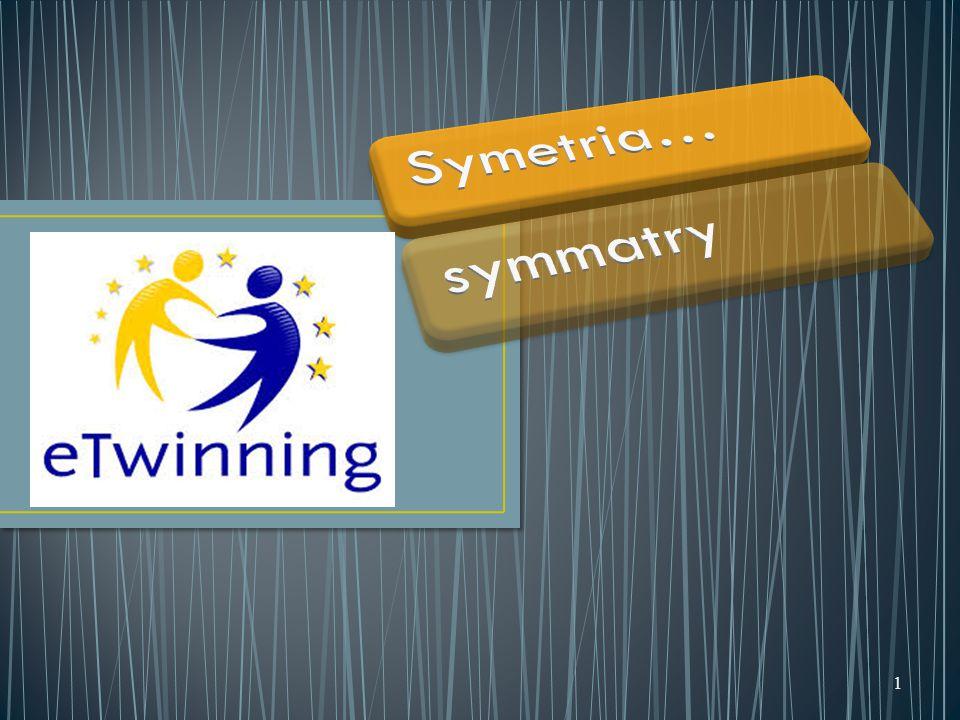 Jeżeli figura jest symetryczna sama do siebie względem pewnego punktu to ten punkt nazywamy środkiem symetrii figury a figurę nazywamy środkowosymetryczną 22