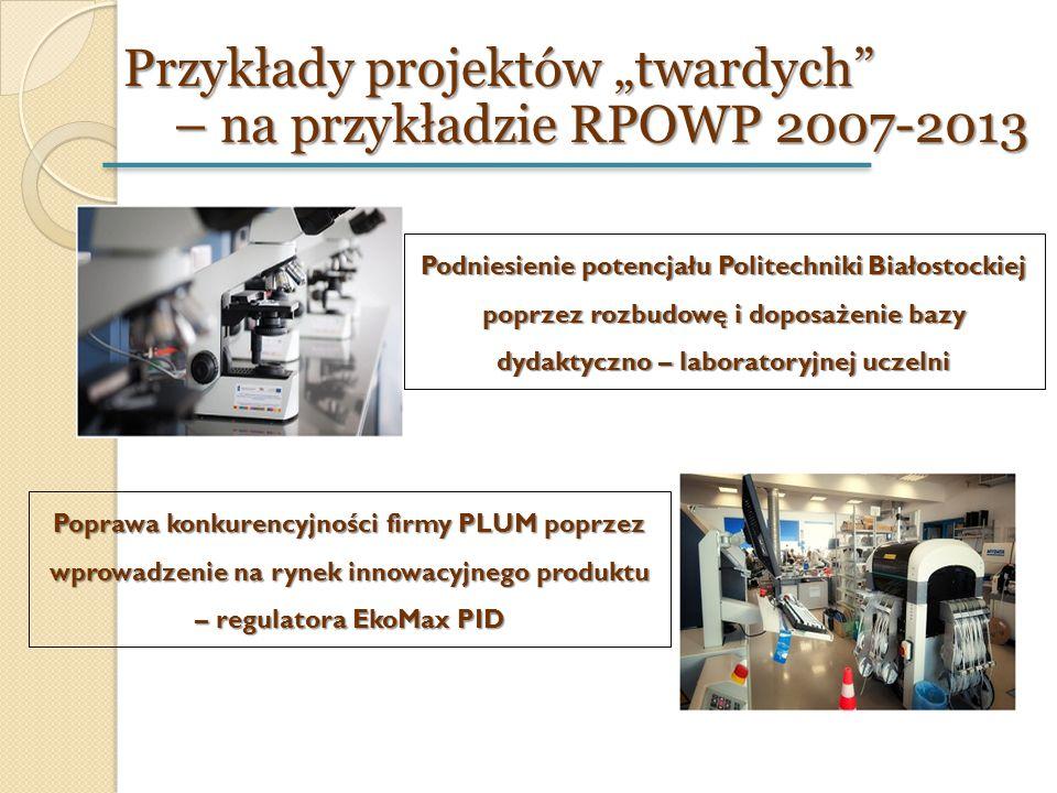 Podniesienie potencjału Politechniki Białostockiej poprzez rozbudowę i doposażenie bazy dydaktyczno – laboratoryjnej uczelni Poprawa konkurencyjności