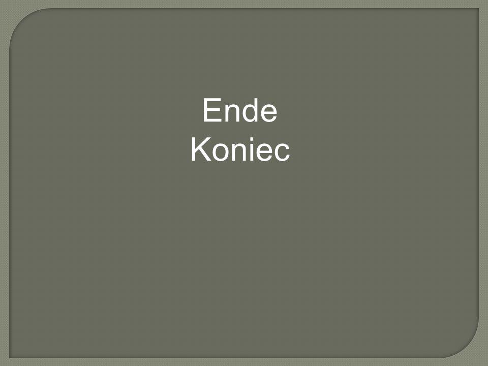 Ende Koniec