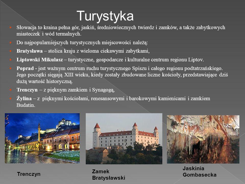 Turystyka Słowacja to kraina pełna gór, jaskiń, średniowiecznych twierdz i zamków, a także zabytkowych miasteczek i wód termalnych.