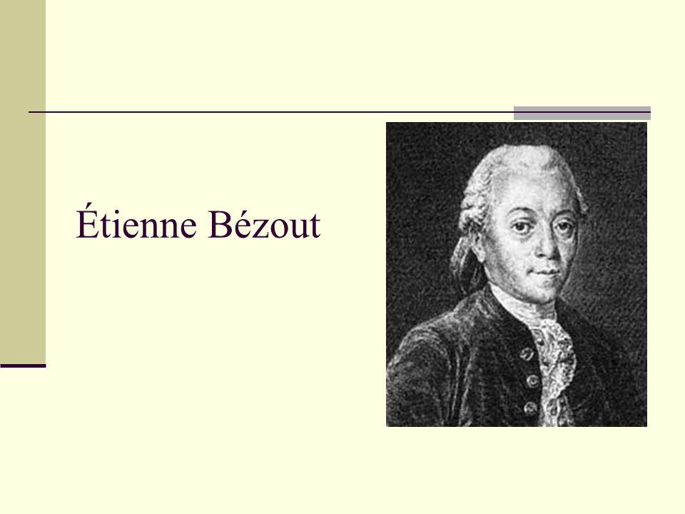 Étienne Bézout