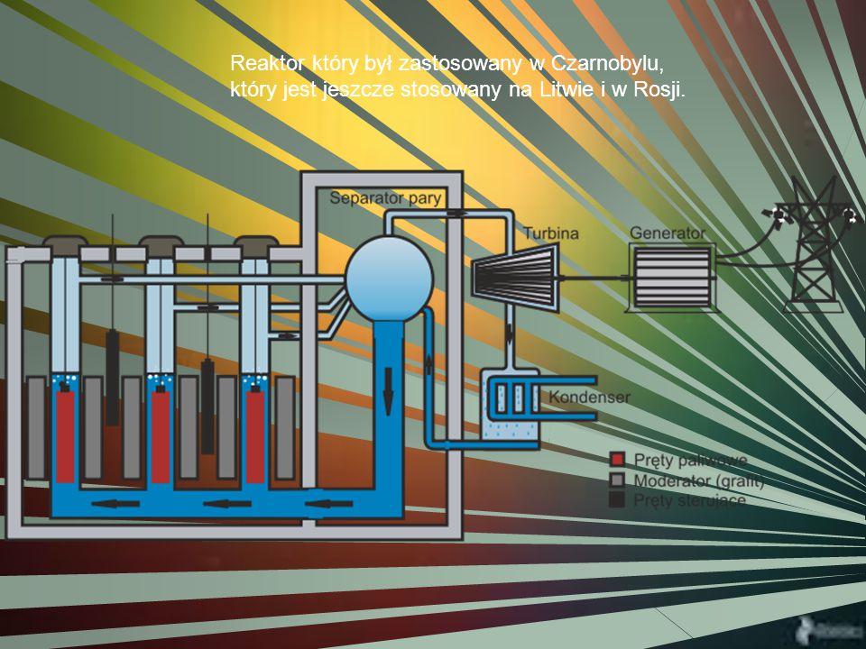 Reaktor który był zastosowany w Czarnobylu, który jest jeszcze stosowany na Litwie i w Rosji.