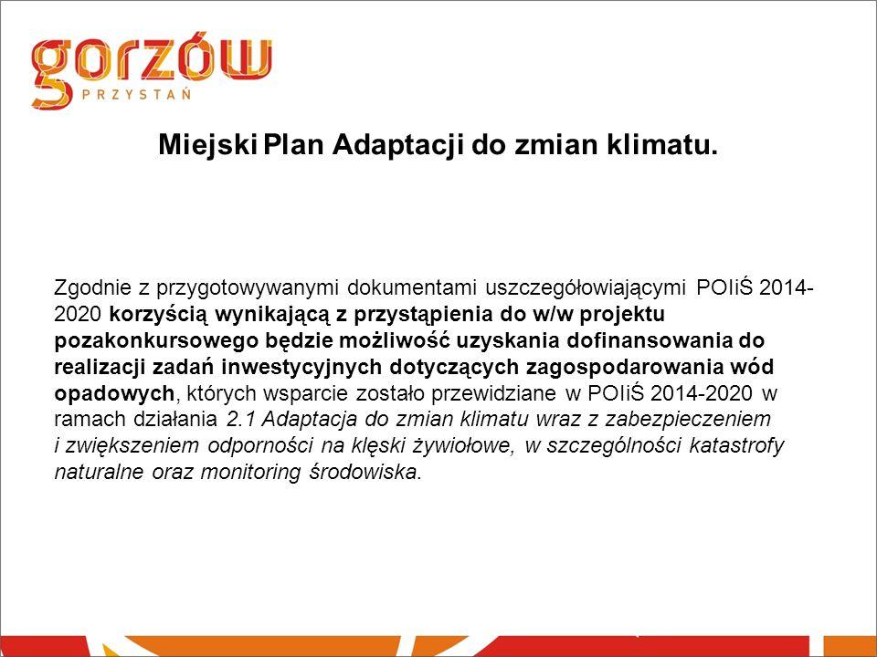 Miejski Plan Adaptacji do zmian klimatu.