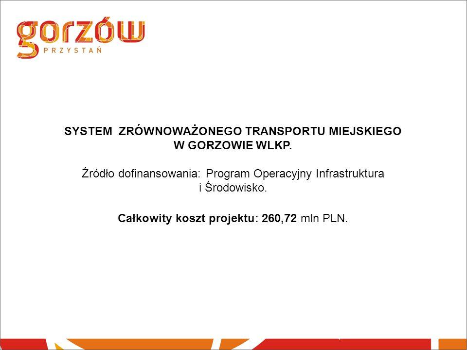 SYSTEM ZRÓWNOWAŻONEGO TRANSPORTU MIEJSKIEGO W GORZOWIE WLKP.