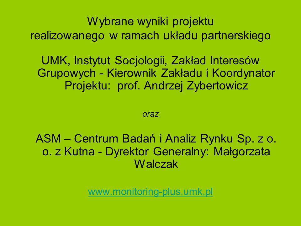 ELEMENTY DIAGNOZY – wybrane specyficzne cechy województwa Kujawsko-pomorskie w porównaniu do województw ościennych jest: bardziej zurbanizowane (niż warmińsko-mazurskie i pomorskie); w mniejszym stopniu zdominowane przez jeden ośrodek miejski - inaczej niż mazowieckie, wielkopolskie, łódzkie i pomorskie; bardziej zróżnicowane, jeśli chodzi o ścieżki potencjalnego rozwoju - rolnictwo, turystyka, transport, edukacja; wyposażone w niezłą infrastrukturę naukowo-badawczą - w odróżnieniu od warmińsko-mazurskiego i pomorskiego; sprzyjające ruchowi tranzytowemu zarówno na osi wschód- zachód, jak i północ-południe - inaczej niż pomorskie i warmińsko-mazurskie; w wielu statystykach kujawsko-pomorskie nie wypada dużo gorzej od województw sąsiednich; ALE: zaniedbana sieć transportu publicznego, zbyt niskie nakłady na badania i rozwój i nieprzyciąganie na dłużej osób z wyższym wykształceniem, oznacza marnotrawienie istniejącego już potencjału.