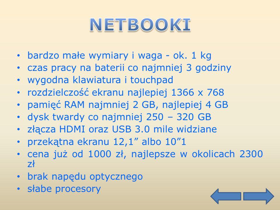 Ekran 10,1 Ekran 12,1 Asus Eee PC 1015PW Asus Lamborghini VX6 cena ok. 1389 zł cena ok. 2269 zł