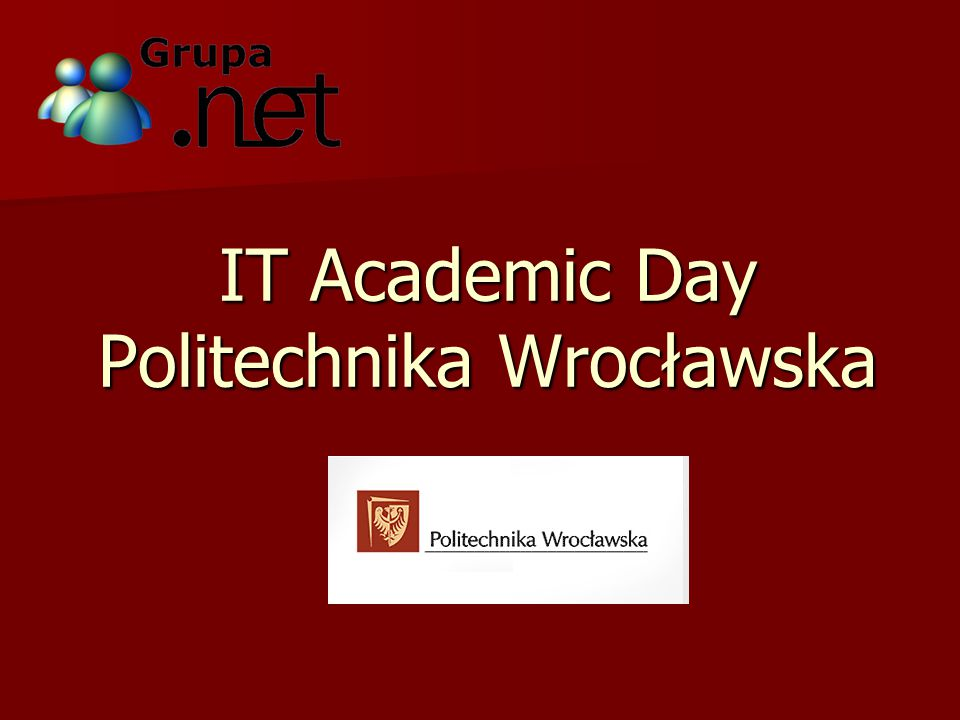 IT Academic Day Politechnika Wrocławska