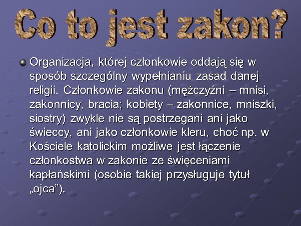 Kongregacje i zgromadzenia benedyktynek działające na terenie Polski.