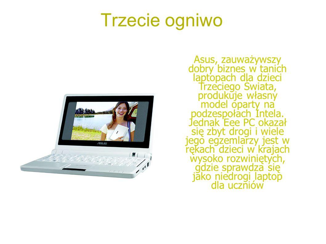Konkurent OLPC Classmate PC – produkt firmy Intel, który jest produkowany poniżej kosztów produkcji, aby – jak twierdzi Negroponte – wykluczyć w akcie