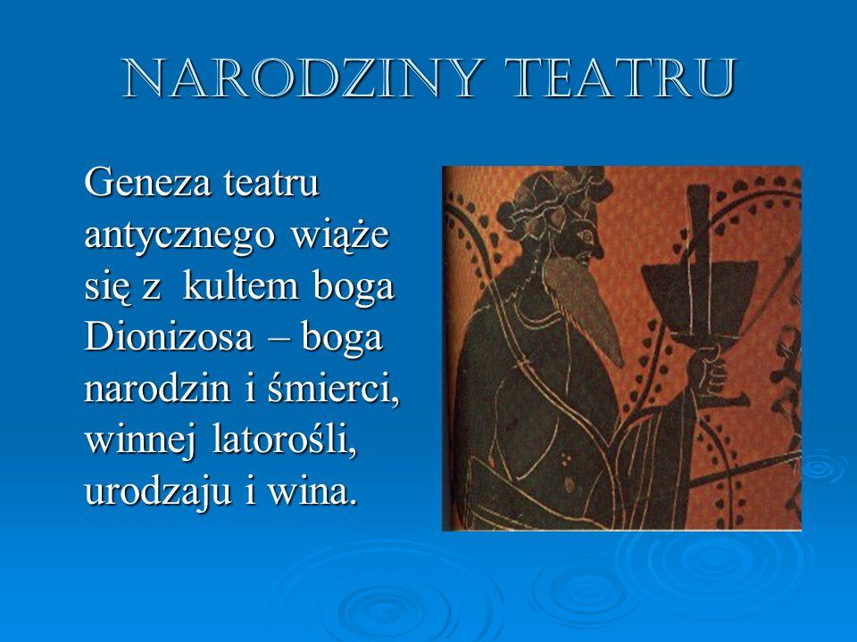 """Ateński tragik Eurypides tak sławił Dionizosa : """"Dionizos jest bogiem rozkoszy."""