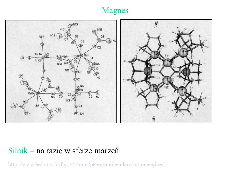 Magnes Silnik – na razie w sferze marzeń http://www.lecb.ncifcrf.gov/~toms/patent/molecularrotationengine/