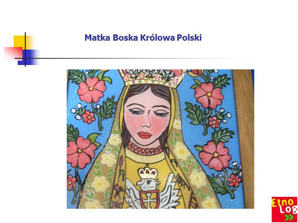 Córka Marii Jasińskiej Marta z obrazem