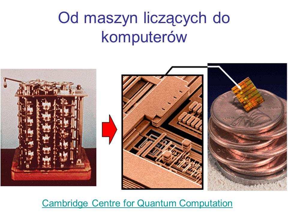 Dlaczego informatycy (niektórzy) studiują mechanikę kwantową a fizycy zainteresowali się szyfrowaniem ?