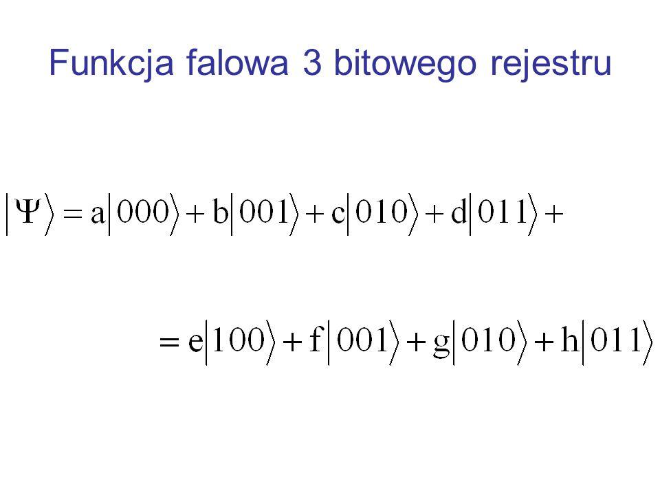 Qubit i jego funkcja falowa