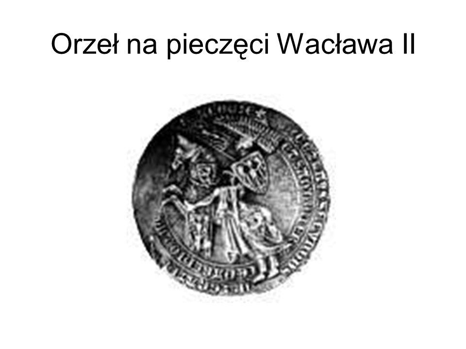 Orzeł na pieczęci Wacława II