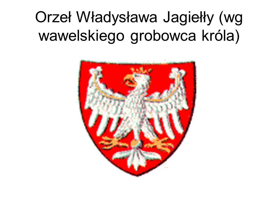 Orzeł Władysława Jagiełły (wg wawelskiego grobowca króla)