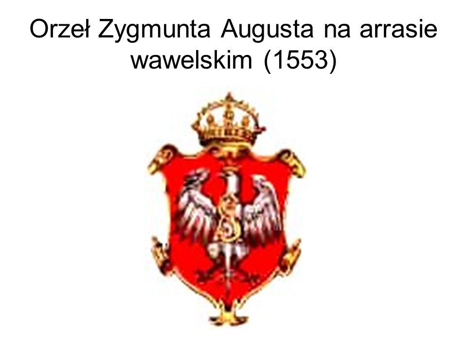 Orzeł Zygmunta Augusta na arrasie wawelskim (1553)