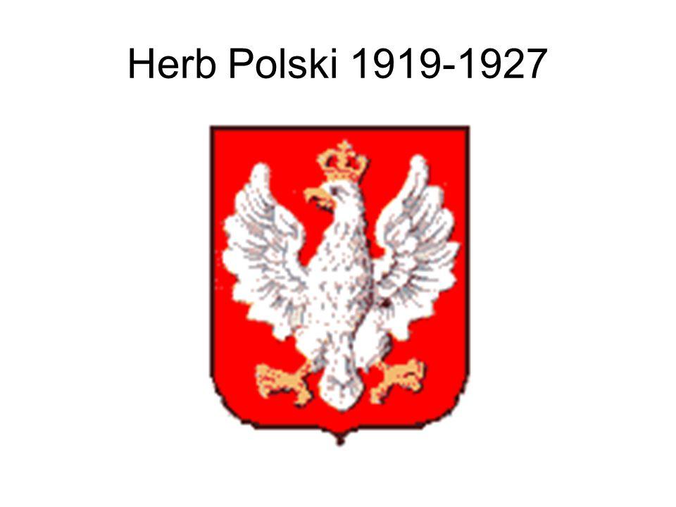 Herb Polski 1919-1927