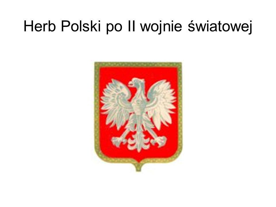 Herb Polski po II wojnie światowej