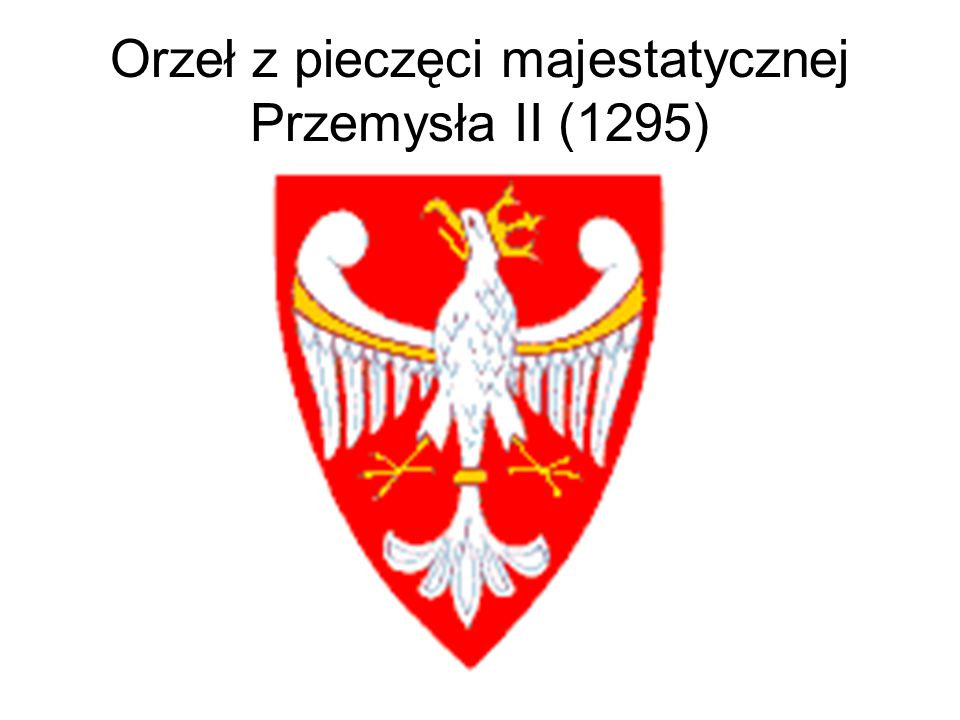 Herb PRL - wzór wprowadzony 31 stycznia 1980 roku