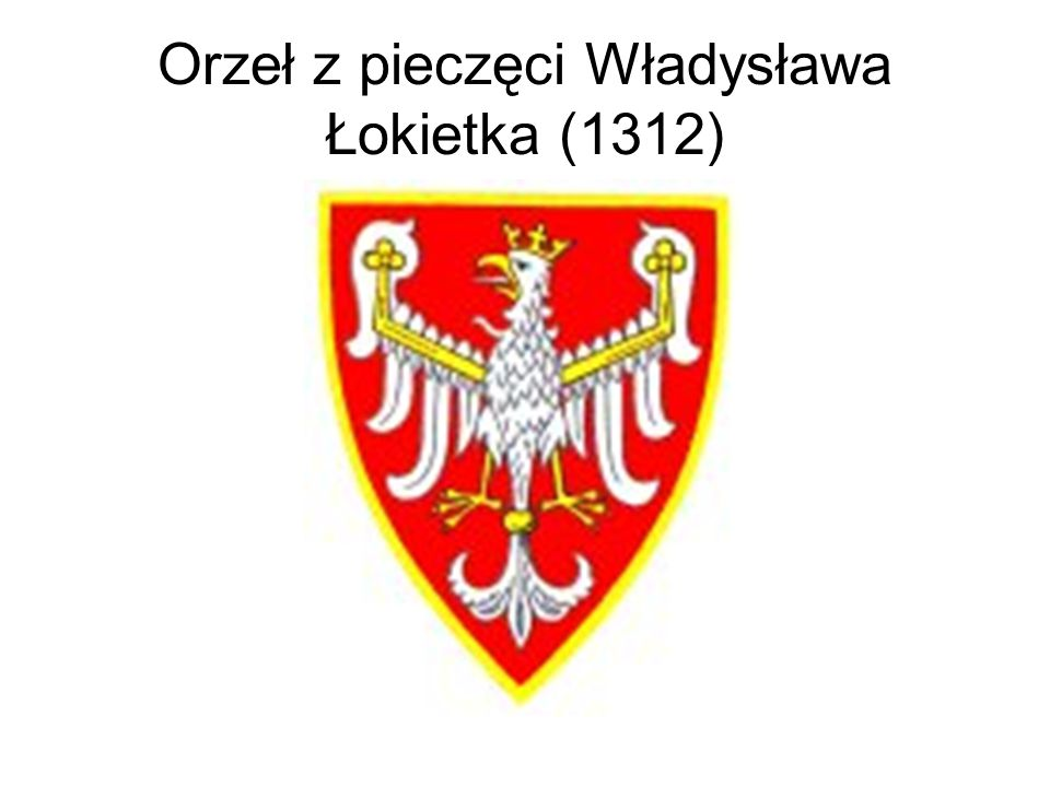 Orzeł z pieczęci majestatycznej Kazimierza Wielkiego (1336)