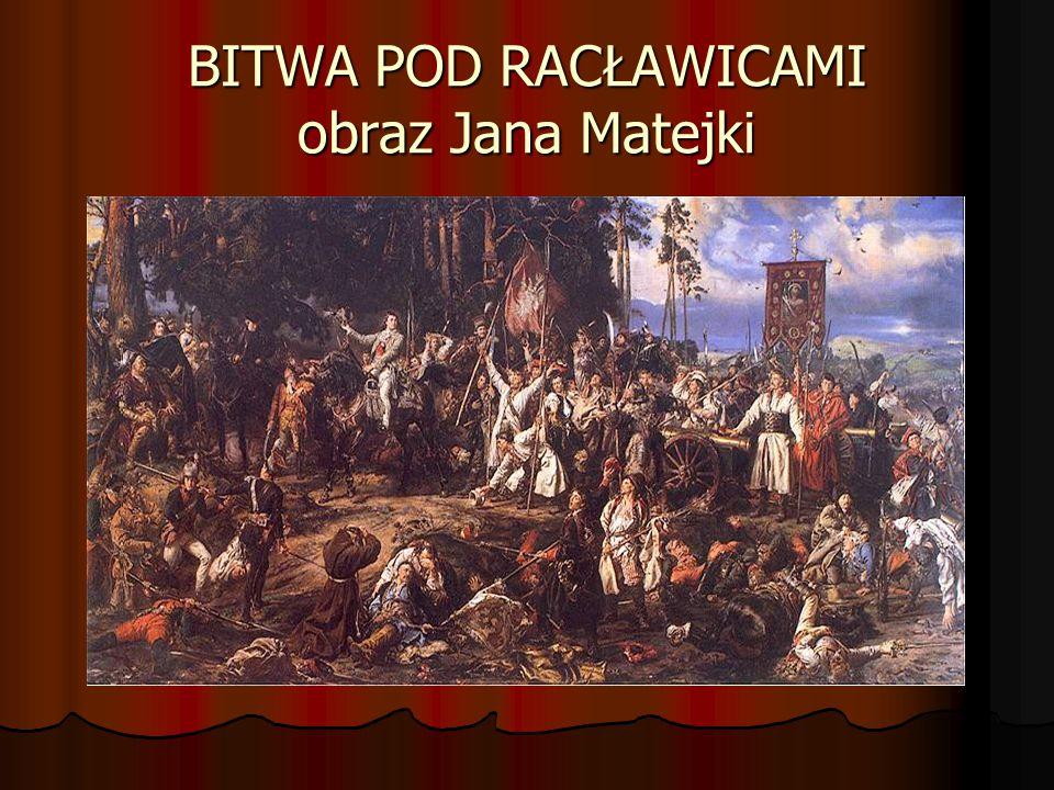 NAGRODA ZA BOHATERSKĄ POSTAWĘ Za męstwo i odwagę okazaną w walce naczelnik Kościuszko mianował Wojciecha Bartosza chorążym świeżo utworzonych Grenadierów Krakowskich