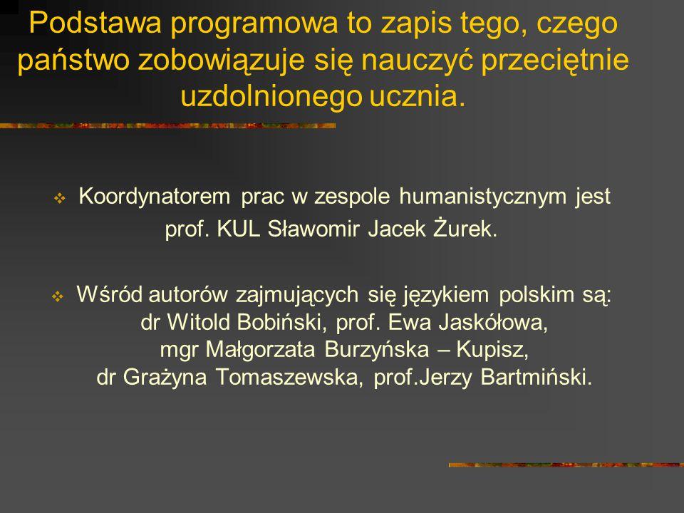 Jednym z najważniejszych zadań szkoły jest kształcenie umiejętności posługiwania się językiem polskim, w tym dbałość o wzbogacenie zakresu słownictwa uczniów.