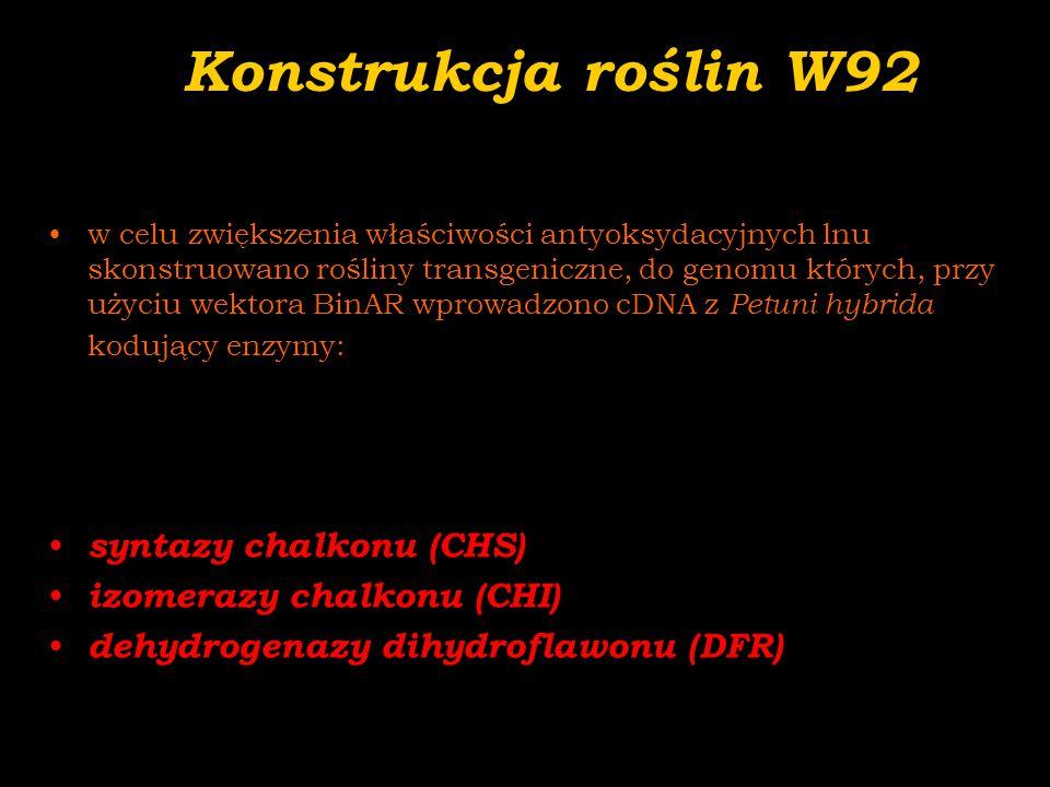 0 2 4 6 8 10 12 C2840707286 mg/g Analiza (HPLC) SDG w nasionach lnu 40- 12% 72- 14% SDG/ IC 50 w nasionach  0,7