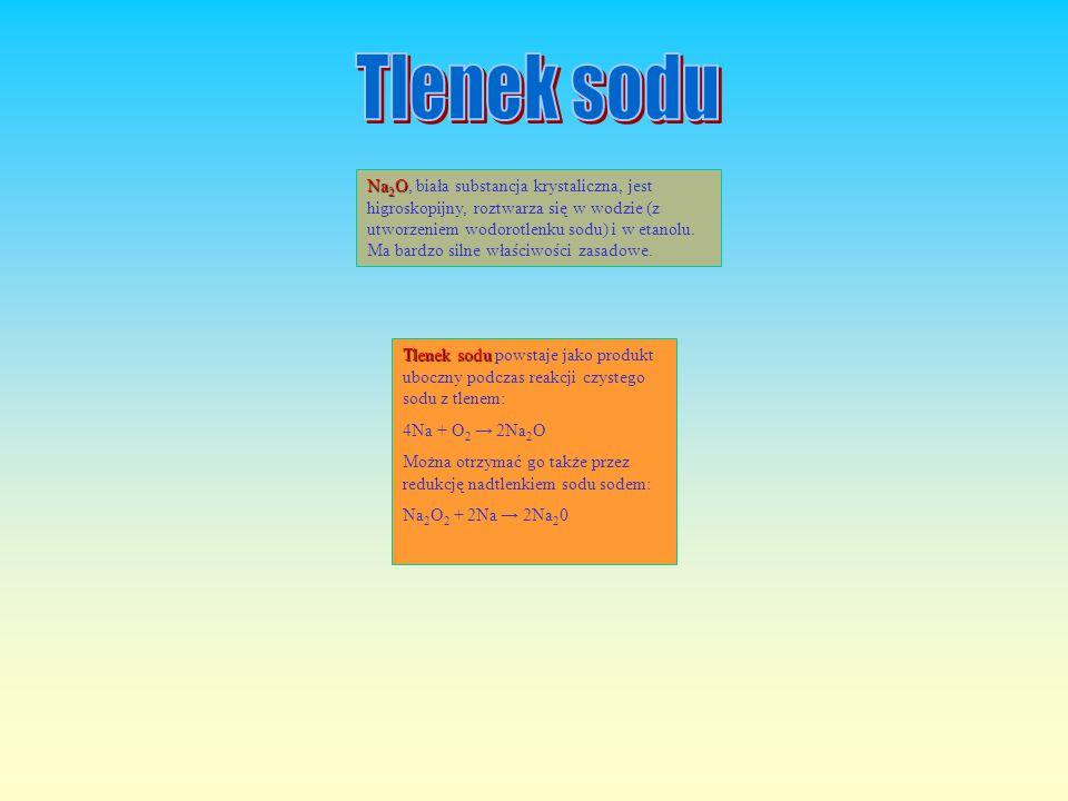 Jodan sodu Jodan sodu NaIO 3 jest ciałem stałym barwy białej.