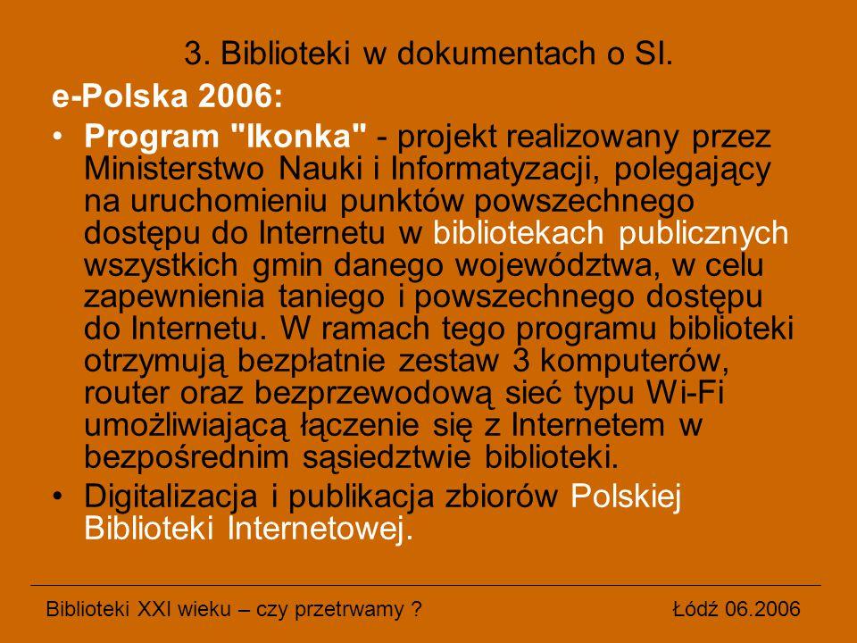 e-Polska 2006: Program