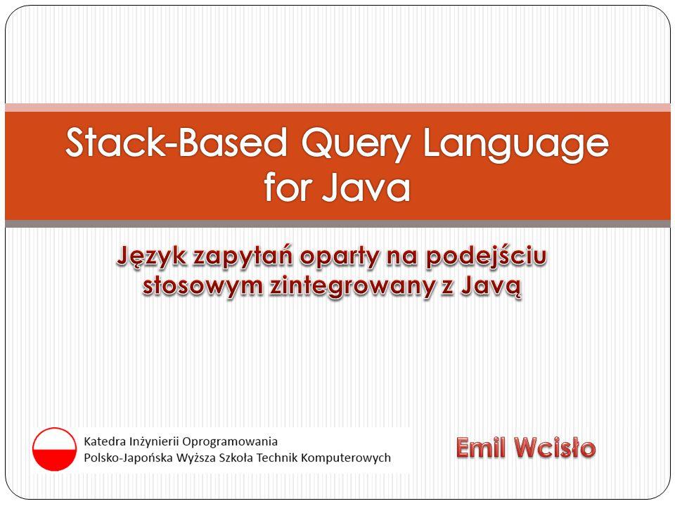 Generyczne kolekcje PJWSTK 2010 22 Rozdzielenie interfejsu (bag, sequence) od implementacji Specjalizacja kolekcji bez zmian w semantyce języka List products = getProductList(); Collection orderedProducts = #{ bag (products.productName) };