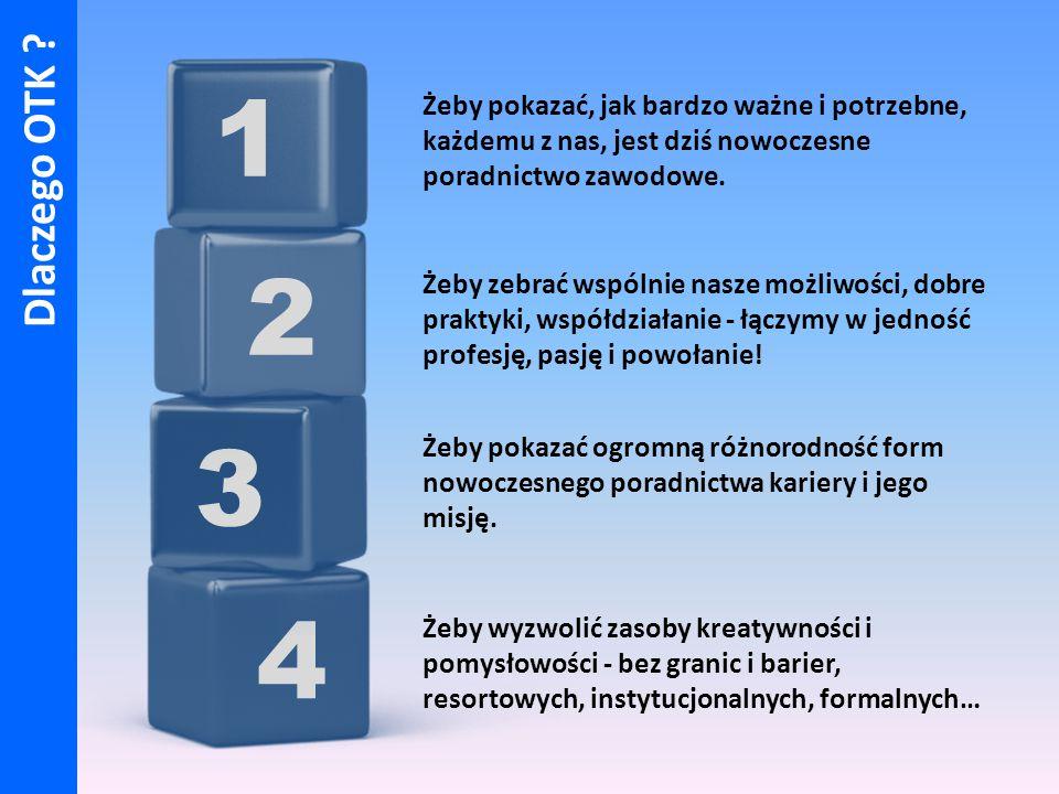 4 3 2 1 Żeby pokazać, jak bardzo ważne i potrzebne, każdemu z nas, jest dziś nowoczesne poradnictwo zawodowe.