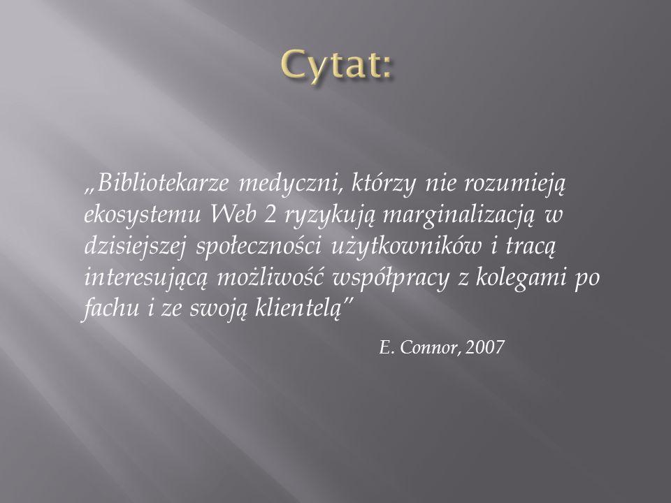 Connor E.Medical Librarian 2.0. Med. Ref. Serv.Q.
