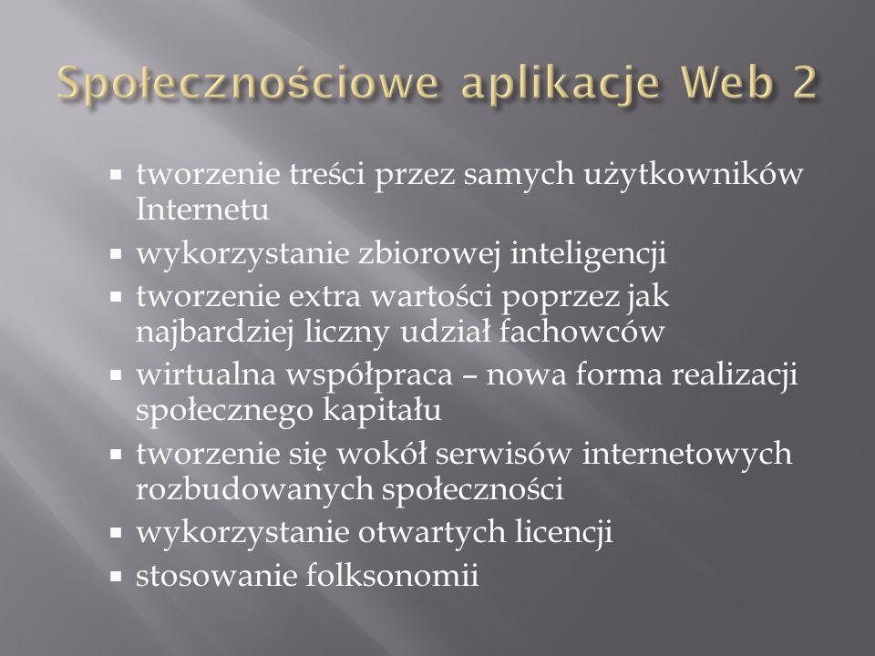 Wiki jest zbiorem połączonych ze sobą stron WWW, które użytkownik sieci może łatwo dodawać, uzupełniać, poprawiać ich treść lub tę treść z nich usuwać.